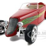 1933 Ford Roadster Red 1/18 Diecast Car by Road Signature