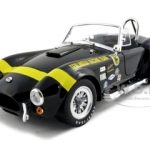 1965 Shelby Cobra 427 S/C Terlingua Racing Team Black 1/18 Diecast Model Car by Shelby Collectibles