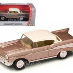 1957 Chevrolet Bel Air Pearl 1/43 Diecast Model Car by Road Signature