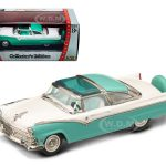 1955 Ford Crown Victoria Green 1/43 Diecast Car Model by Road Signature