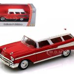 1957 Chevrolet Nomad Red 1/43 Diecast Car Model by Road Signature