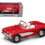 1957 Chevrolet Corvette Red 1/43 Diecast Car Model by Road Signature