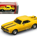 1967 Chevrolet Camaro Z-28  Yellow 1/43 Diecast Model Car by Road Signature