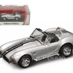 1964 Shelby Cobra 427 S/C Silver 1/43 Diecast Car by Road Signature