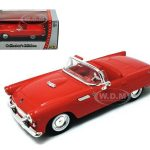 1955 Ford Thunderbird Red 1/43 Diecast Car by Road Signature