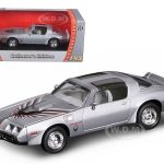 1979 Pontiac Firebird Trans Am Silver 1/43 Diecast Model Car by Road Signature