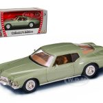 1971 Buick Riviera GS Green 1/43 Diecast Car Model by Road Signature