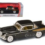 1958 Studebaker Golden Hawk Black 1/43 Diecast Model Car by Road Signature