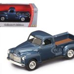 1950 GMC Pickup Truck Dark Blue 1/43 Diecast Model Car by Road Signature