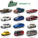 Motor World Series 13 12pc Diecast Car Set 1/64 by Greenlight