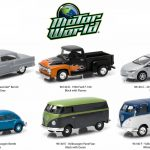 Motor World Series 14 6pc Diecast Car Set 1/64 Diecast Model Cars by Greenlight