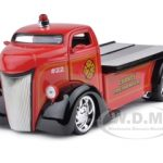 1947 Ford COE Fire Tow Truck 1/24 Diecast Model Car by Jada