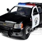 2010 Chevrolet Tahoe Highway Patrol 1/24 Diecast Car Model by Jada