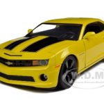 2010 Chevrolet Camaro SS Yellow 1/18 Diecast Model Car by Jada