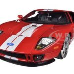 2005 Ford GT Red 1/24 Diecast Car Model by Jada