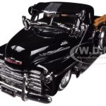 1951 Chevrolet Pickup Truck Lowrider Black 1/24 Diecast Model by Jada