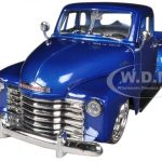 1953 Chevrolet 3100 Pickup Truck Blue 1/24 Diecast Model by Jada