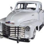 1953 Chevrolet 3100 Pickup Truck White 1/24 Diecast Car Model by Jada