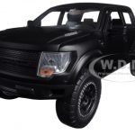 2011 Ford F-150 SVT Raptor Pickup Truck Matt Black 1/24 Diecast Model by Jada