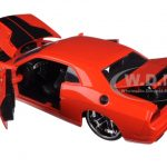 2008 Dodge Challenger SRT8 Orange 1/24 Diecast Model Car by Jada