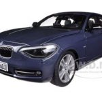 BMW F20 1 Series Blue 1/18 Diecast Car Model by Paragon