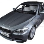 2012 BMW M5 F10 Space Grey 1/18 Diecast Car Model by Paragon
