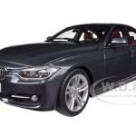 BMW F30 3 Series Mineral Grey 1/18 Diecast Car Model by Paragon
