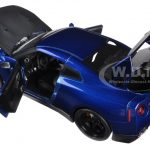 Brians Nissan GTR R35 Blue Fast & Furious 7 Movie 1/18 Diecast Model Car by Jada