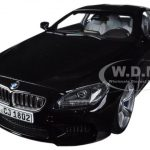 BMW M6 F13M Coupe Black Sapphire 1/18 Diecast Car Model by Paragon
