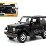 2014 Jeep Wrangler Black 1/32 Diecast Model Car by Jada