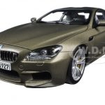 BMW M6 F13M Coupe Frozen Bronze 1/18 Diecast Model Car by Paragon