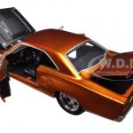 Doms 1970 Plymouth Road Runner Copper Fast & Furious 7 Movie 1/24 Diecast Model Car by Jada