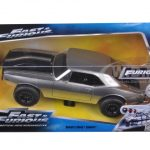 Romans Chevrolet Camaro Z/28 Silver Fast & Furious 7 Movie 1/24 Diecast Model Car by Jada