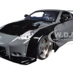 D.K.s Nissan 350Z Black Fast & Furious Movie 1/24 Diecast Model Car by Jada