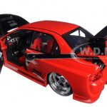 Sean's Mitsubishi Lancer Evolution VIII Red Fast & Furious Movie 1/18 Diecast Car Model by Jada