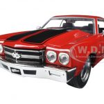 Doms Chevrolet Chevelle SS Red Fast & Furious Movie 1/24 Diecast Model Car by Jada