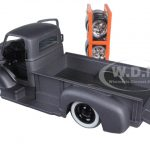 1952 Chevrolet Coe Pickup Truck Matt Grey Just Trucks with Extra Wheels 1/24 Diecast Model by Jada