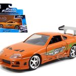 Brians Toyota Supra Orange Fast & Furious Movie 1/32 Diecast Model Car by Jada