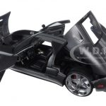 2005 Ford GT Black 1/24 Diecast Model Car by Jada