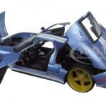 2005 Ford GT Blue 1/24 Diecast Model Car by Jada