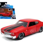 Doms Chevrolet Chevelle SS Red Fast & Furious Movie 1/32 Diecast Model Car by Jada