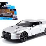 Brians Nissan GT-R R35 Silver Fast & Furious Movie 1/32 Diecast Model Car by Jada
