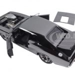 Doms Dodge Charger R/T Chrome Limited Edition Fast & Furious Movie 1/24 Diecast Model Car by Jada