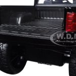 2014 Chevrolet Silverado Black Pickup Truck Off Road 1/24 Diecast Model by Jada