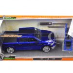 2014 Dodge Ram 1500 Pickup Truck Blue Just Trucks with Extra Wheels 1/24 Diecast Model by Jada