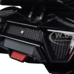 Lykan Hypersport Glossy Black 1/24 Diecast Model Cars by Jada