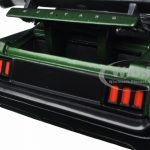 1970 Ford Mustang Boss 429 Dark Green Metallic 1/24 Diecast Model Car by Jada