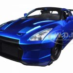 Brians 2009 Nissan GTR R35 Blue Ben Sopra Fast & Furious Movie 1/24 Diecast Model Car  by Jada
