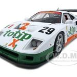 Ferrari F40 Competizione Lemans 1994 #29 Totip 1/18 Diecast Model Car Elite Edition by Hotwheels