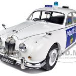 1965 Jaguar Mark II Leicestershire Police Limited to 999pc 1/18 Diecast Model Car by Model Icons